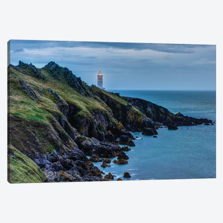 Coastal Warning Canvas Print #DVG294} by David Gardiner Canvas Art