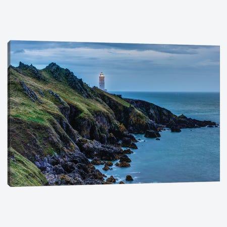 Coastal Warning Canvas Print #DVG294} by David Gardiner Canvas Art