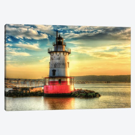 Hudson Light Canvas Print #DVG295} by David Gardiner Canvas Artwork