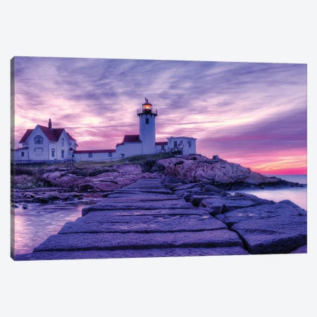 New England Light Canvas Print #DVG298} by David Gardiner Canvas Print