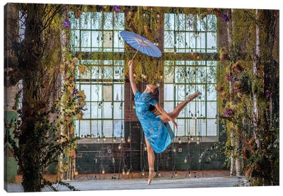 Joy Dancer Canvas Art Print
