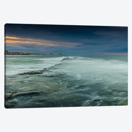 Asbury Foam Canvas Print #DVG325} by David Gardiner Canvas Art