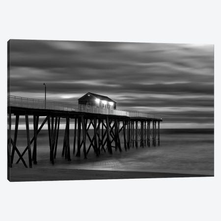 Belmar B&W Canvas Print #DVG329} by David Gardiner Canvas Print