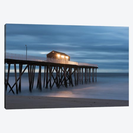 Belmar Morning Canvas Print #DVG333} by David Gardiner Canvas Artwork