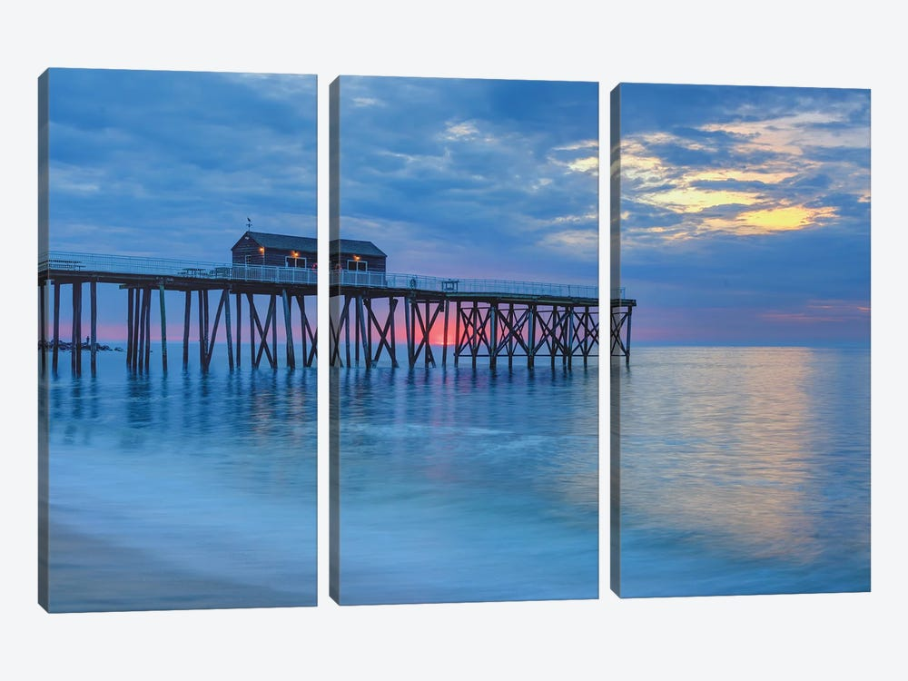Coastal Bliss by David Gardiner 3-piece Canvas Artwork
