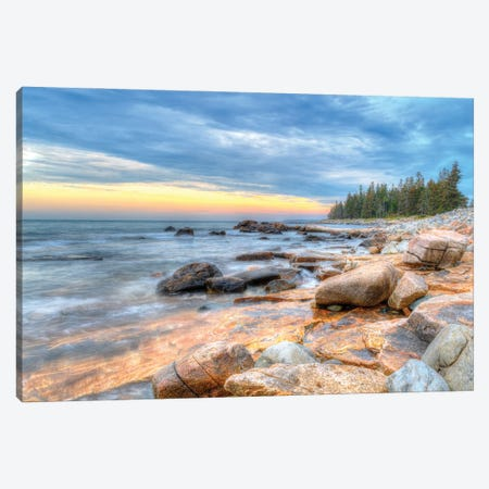 Coastal Maine Canvas Print #DVG348} by David Gardiner Canvas Print