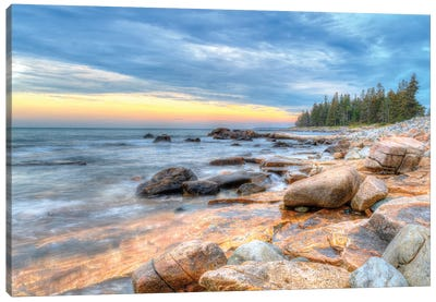 Coastal Maine Canvas Art Print