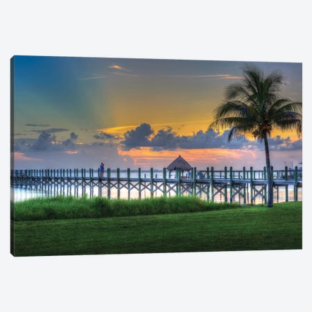 Florida Colors Canvas Print #DVG360} by David Gardiner Canvas Print