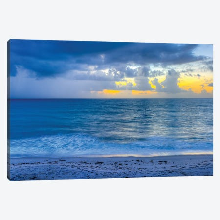 Florida Sunrise Canvas Print #DVG361} by David Gardiner Canvas Print