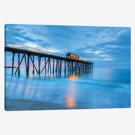 Jersey Morn Canvas Print #DVG369} by David Gardiner Art Print