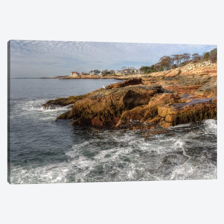 Rocks  in Mass. Canvas Print #DVG386} by David Gardiner Canvas Wall Art