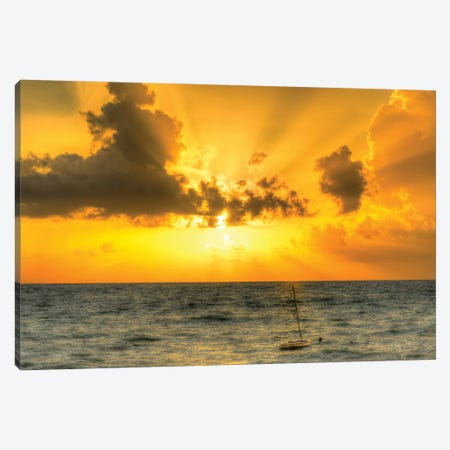 Vero Beach Sun Up Canvas Print #DVG397} by David Gardiner Canvas Art Print
