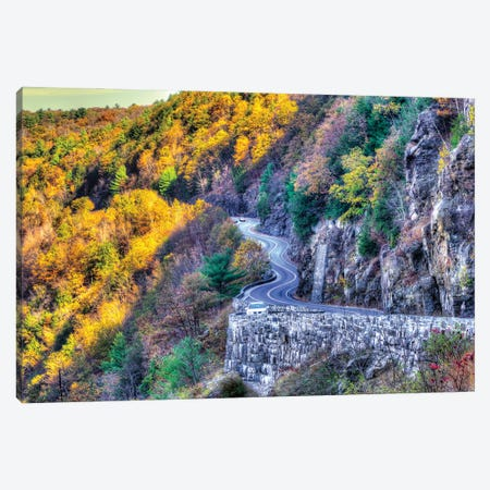 Deleware Drive Canvas Print #DVG401} by David Gardiner Canvas Art