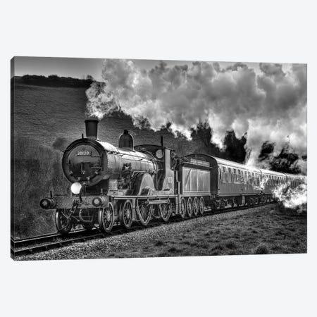 Steam Days Canvas Print #DVG412} by David Gardiner Canvas Print