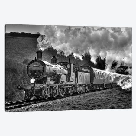 Steam Days Canvas Print #DVG412} by David Gardiner Canvas Print