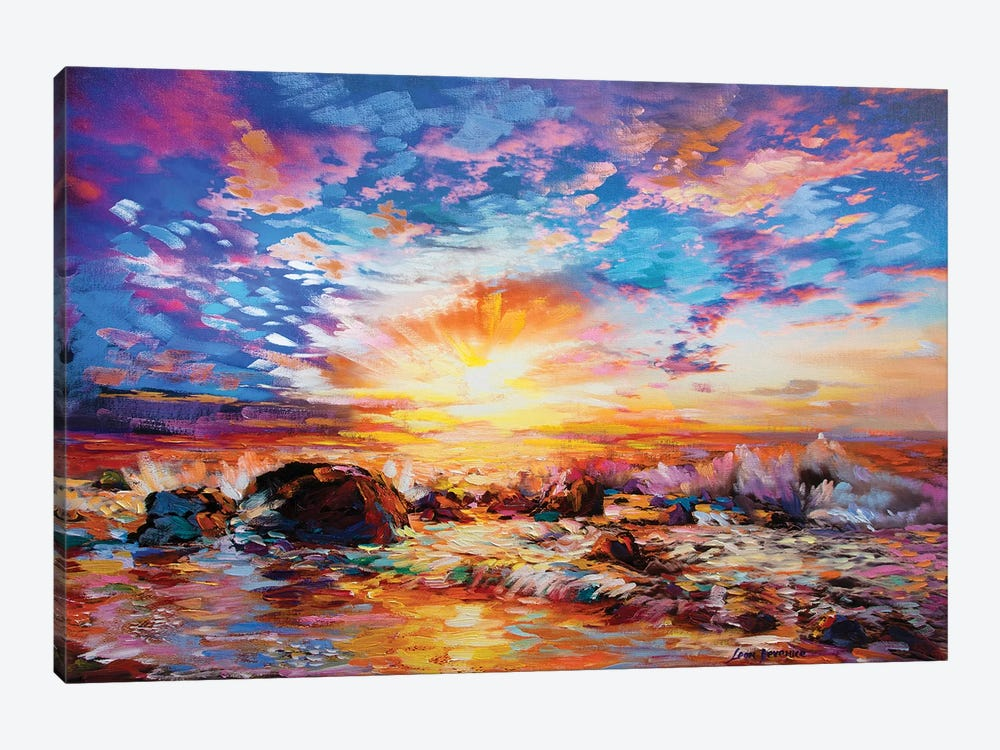 Voices Of The Ocean by Leon Devenice 1-piece Canvas Wall Art