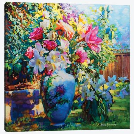 Welcome New Love Canvas Print #DVI106} by Leon Devenice Art Print