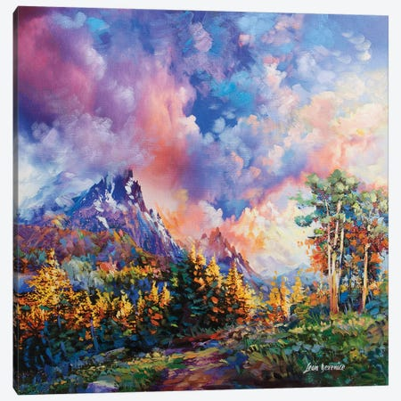 After The Storm Canvas Print #DVI10} by Leon Devenice Canvas Art