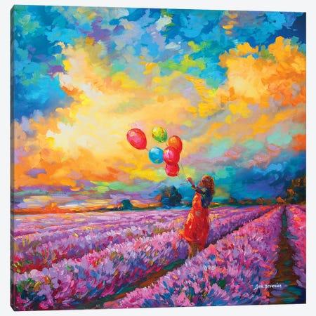 Impressionist Art Canvas Print #DVI113} by Leon Devenice Art Print