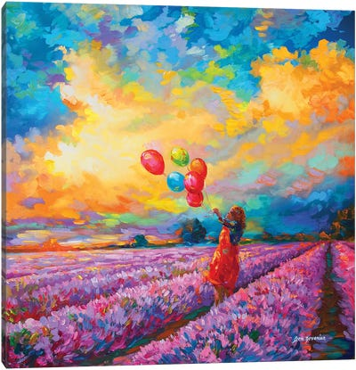 Impressionist Art Canvas Art Print