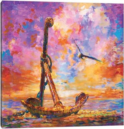 Anchor Art Canvas Art Print