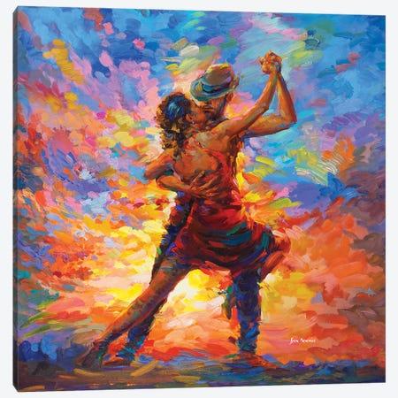 Tango Art Canvas Print #DVI118} by Leon Devenice Canvas Art Print