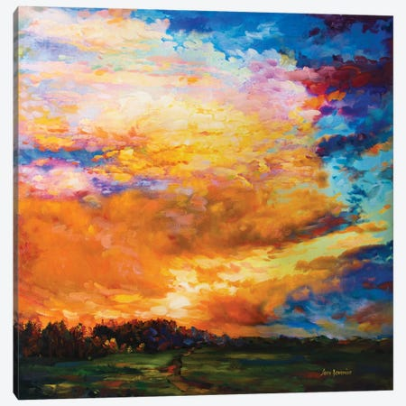 After The Sunset Canvas Print #DVI11} by Leon Devenice Canvas Art