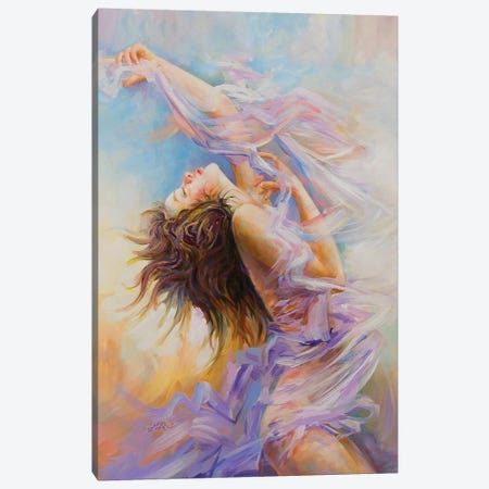 Ecstasy Canvas Print #DVI124} by Leon Devenice Art Print