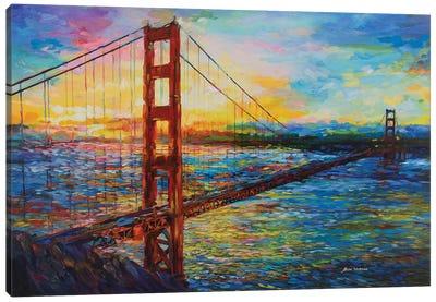 Golden Gate Bridge, San Francisco, CA Canvas Art Print