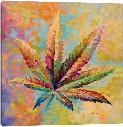 Marijuana Leaf V1  Canvas Art Print