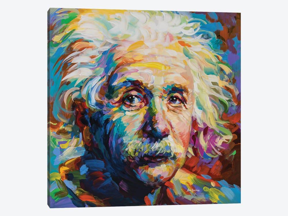 Einstein by Leon Devenice 1-piece Art Print