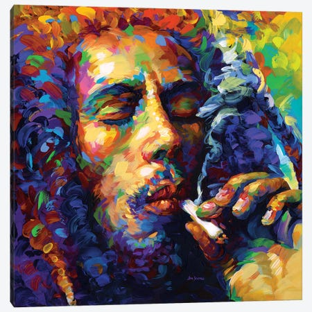 Marley Canvas Print #DVI137} by Leon Devenice Canvas Wall Art