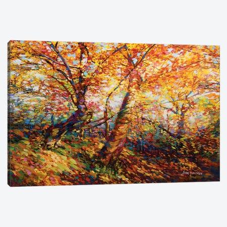 Autumn Memories Canvas Print #DVI13} by Leon Devenice Canvas Wall Art