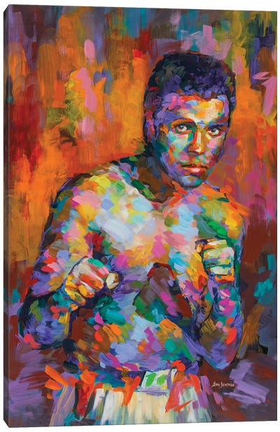 Ali, Boxing Legend Canvas Art Print