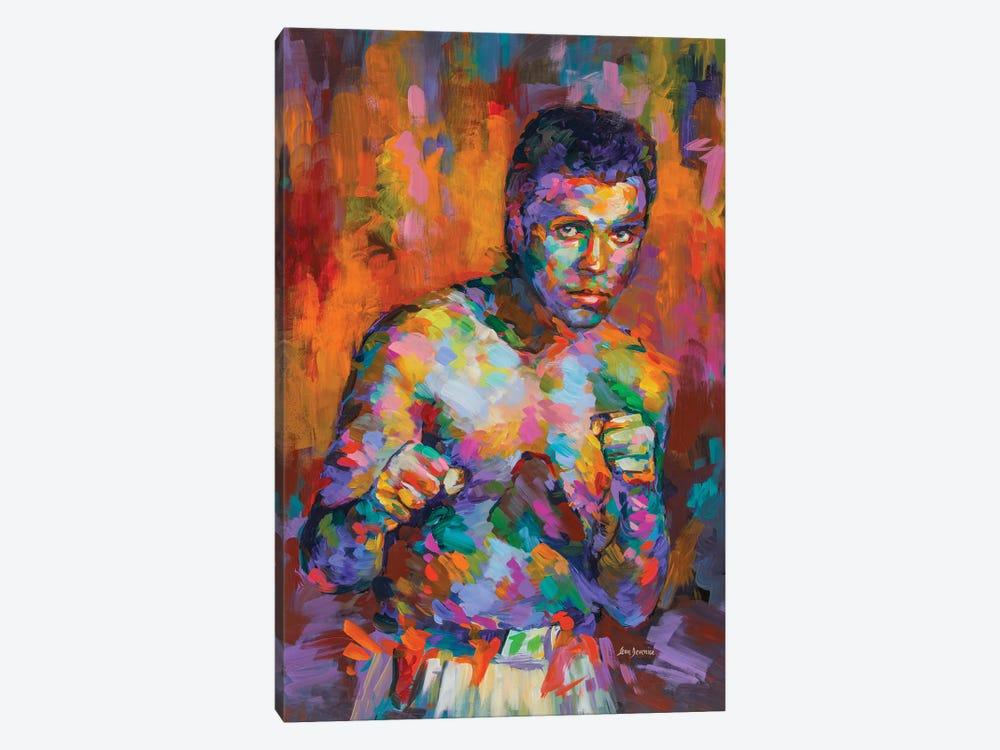 Ali, Boxing Legend by Leon Devenice 1-piece Canvas Art