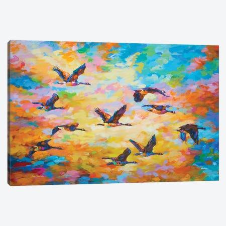 Towards Destination II Canvas Print #DVI145} by Leon Devenice Canvas Print