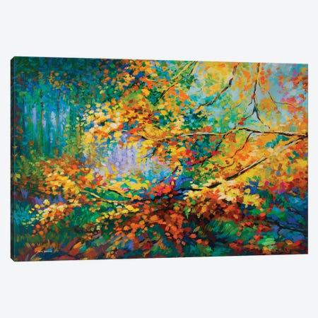Autumn Memories Canvas Print #DVI146} by Leon Devenice Canvas Print