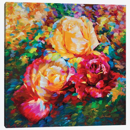 Stories Of Love Canvas Print #DVI148} by Leon Devenice Canvas Wall Art