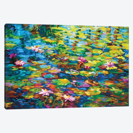 Energy, Fragrance & Color Canvas Print #DVI150} by Leon Devenice Canvas Art Print
