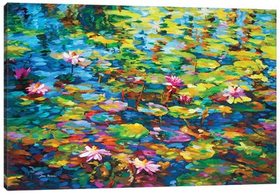 Energy, Fragrance & Color Canvas Art Print