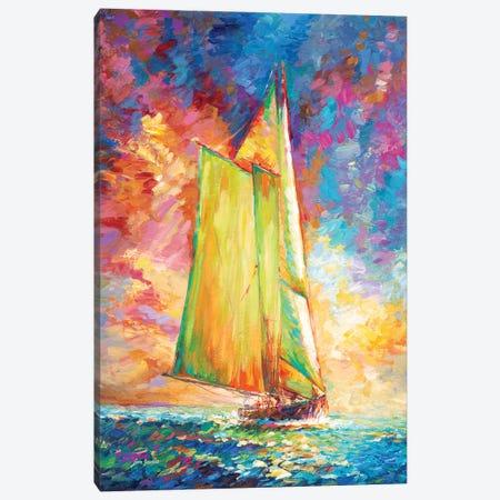 Freedom, Open Air & Adventure Canvas Print #DVI153} by Leon Devenice Art Print