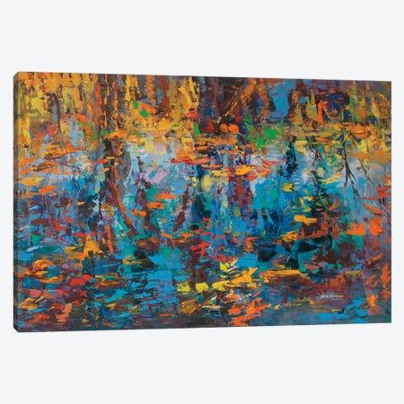 Reflections Canvas Print #DVI154} by Leon Devenice Canvas Wall Art