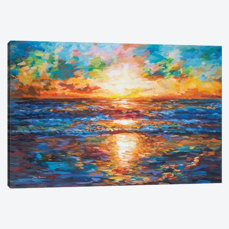 Sea Of Emotions Canvas Print #DVI156} by Leon Devenice Canvas Artwork