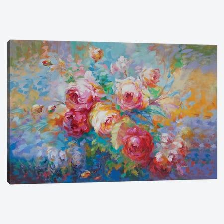Love Is All Canvas Print #DVI157} by Leon Devenice Canvas Wall Art