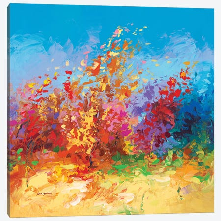 Whispers In The Wind Canvas Print #DVI176} by Leon Devenice Canvas Artwork