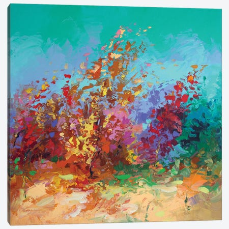 Whispers In The Wind Ii Canvas Print #DVI177} by Leon Devenice Canvas Artwork