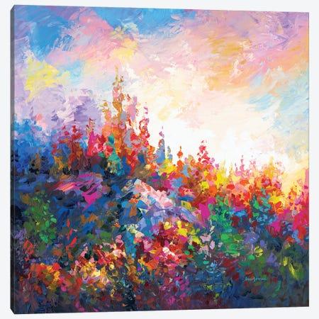 Towards The Forest Of Dreams Canvas Print #DVI179} by Leon Devenice Canvas Print