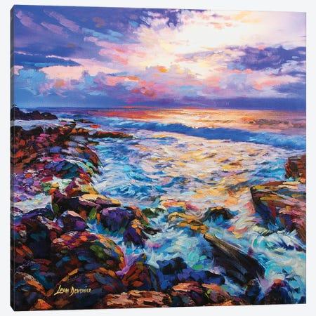 Contemplation Canvas Print #DVI17} by Leon Devenice Canvas Art Print