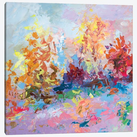 Autumn Splendor Canvas Print #DVI181} by Leon Devenice Canvas Artwork