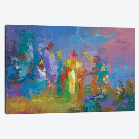 Gypsy King Canvas Print #DVI187} by Leon Devenice Canvas Art Print